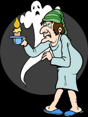Ghost Hunting - just where has that ghost got to?