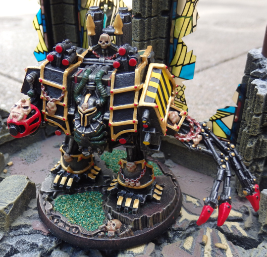 Chaos Space Marine Dreadnought - Iron Warriors