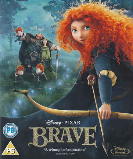 Brave - The corset of a Princess, the hands of a fighter :)