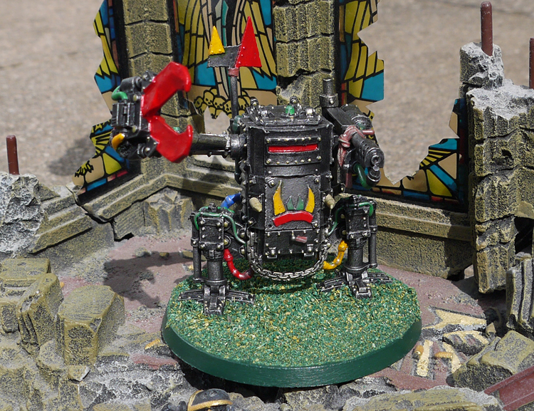 Ork Killer Kan - Three make a Dreadnought run :)
