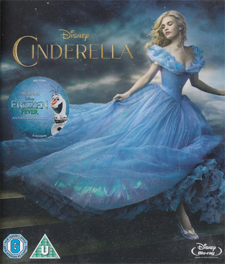Cinderella - A Kingdom of Love, with her Mum and her Dad :)
