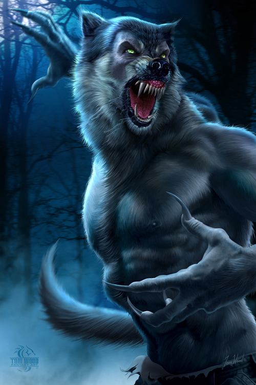 Werewolf - Tom Wood - Fantasy Art