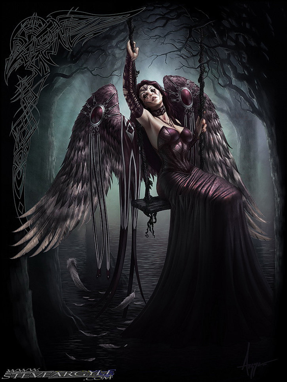 Sad Angel - Gothic Angel - Dark Angel
