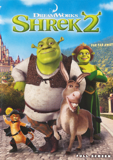 Shrek 2 - Two ogres in love, with mud as a bath :)