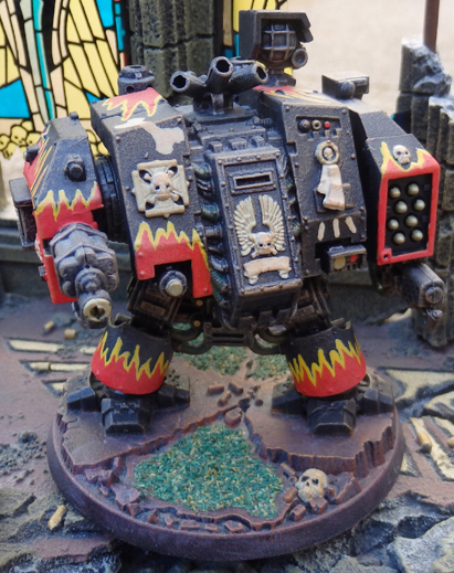Space Marine Hellfire Dreadnought - Legion of the Damned